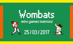 Wombats toernooi Retro Gaming 2017